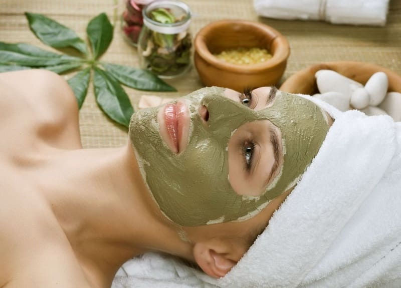 Травяная маска для увлажнения
