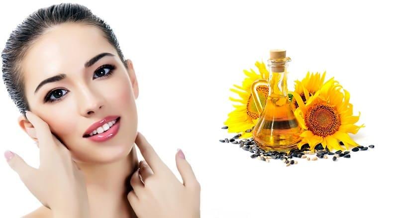 Зачем и как применять подсолнечное масло для лица