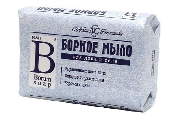 Борное мыло для чистоты кожи
