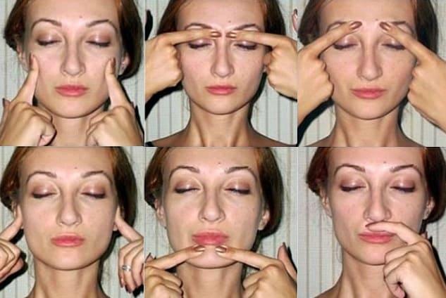омолаживающий массаж для лица