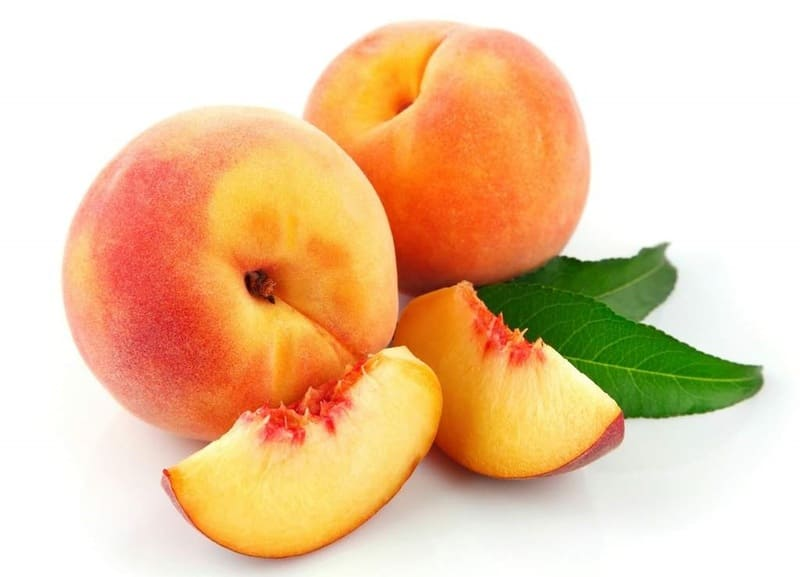 Маска для лица из персика
