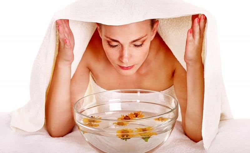 Паровая ванна для лица