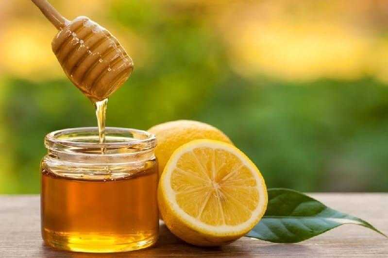 Маска на основе лимона и мёда