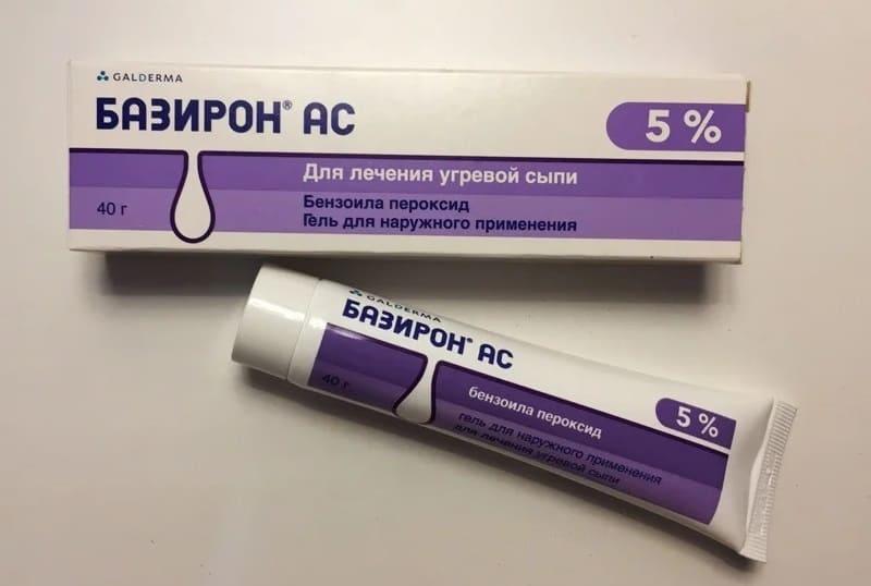 Мое лечение гелем базирон