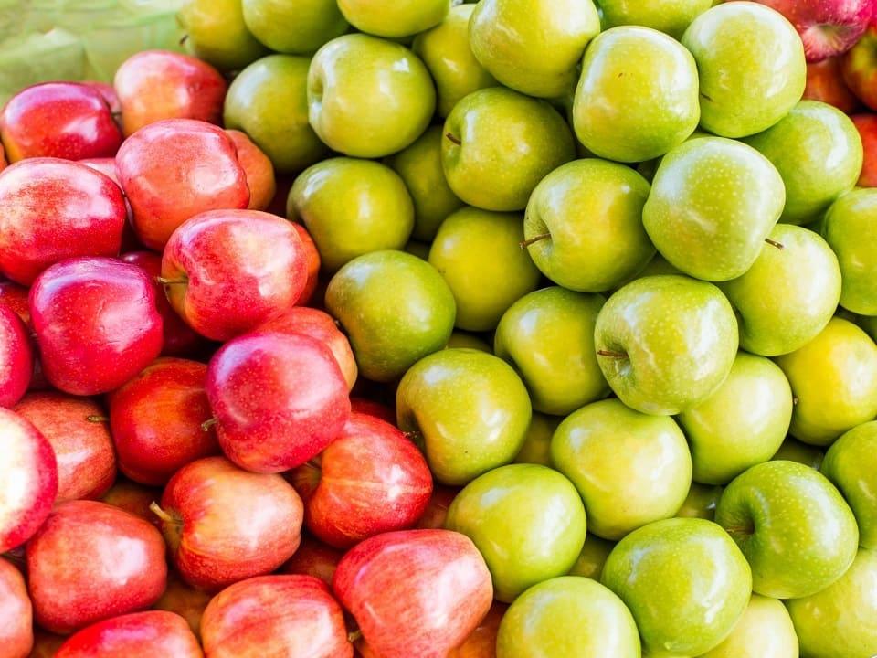 Витаминный профиль яблок