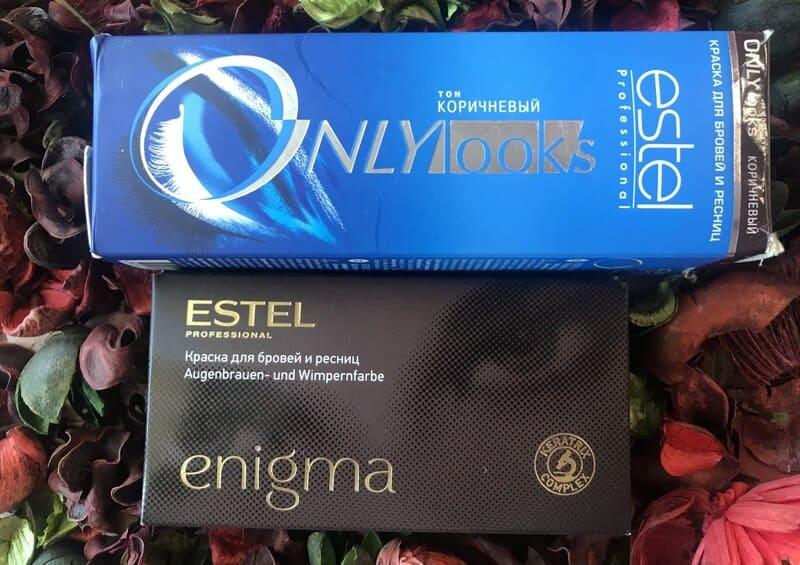 Краска для бровей Estel Only Looks и Enigma