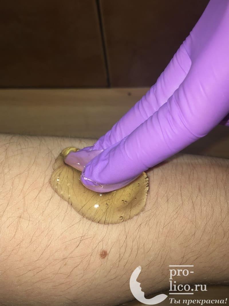 Мануальная техника шугаринга