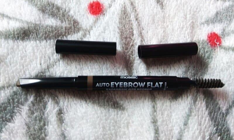 Карандаш для бровей Auto Eyebrow Flat