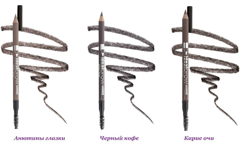 Палитра оттенков карандаша Eva Mosaic
