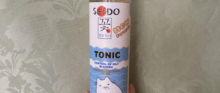 Матирующий тоник для лица Sendo с молочной кислотой и цинком — мой отзыв, разбор состава, плюсы и минусы