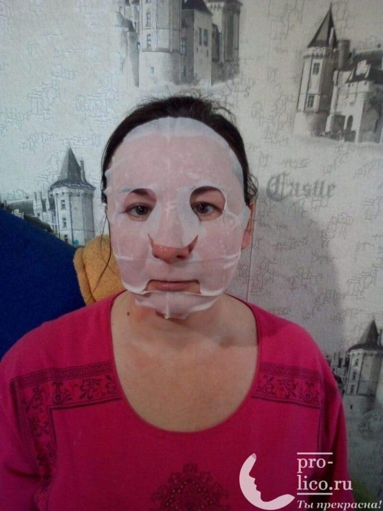 Мой отзыв на замечательную питательную маску для лица Mediva SPA-уход