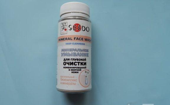 Минеральное умывание Sendo для комбинированной и жирной кожи - хорошо очищает, но сушит