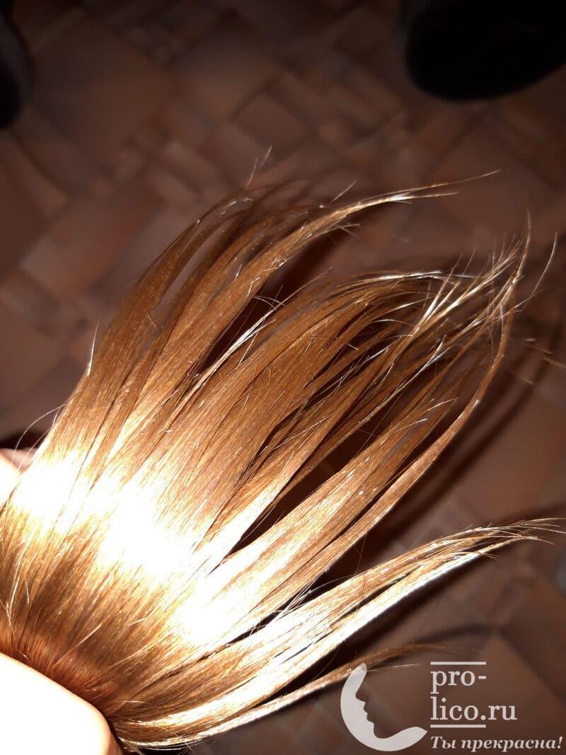 """Мой отзыв на флюид для секущихся кончиков волос """"Biotin Energi"""" от Kapous"""