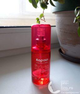 Мой отзыв на флюид для секущихся кончиков волос «Biotin Energy» от Kapous
