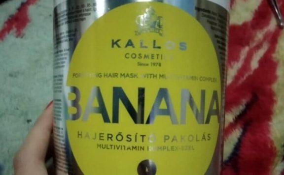 Мой отзыв на маску для укрепления волос с экстрактом банана Kallos Cosmetics Banana Mask