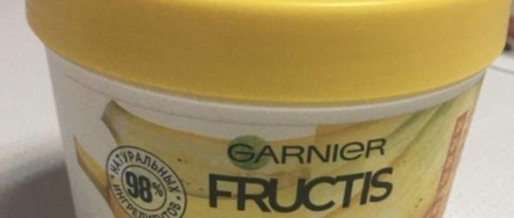 """Мой отзыв на маску для волос Garnier Fructis """"Банан Superfood"""" экстра питание"""