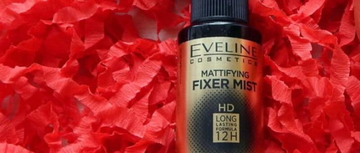 матирующий спрей-фиксатор макияжа Eveline Mattifying Fixer Mist HD
