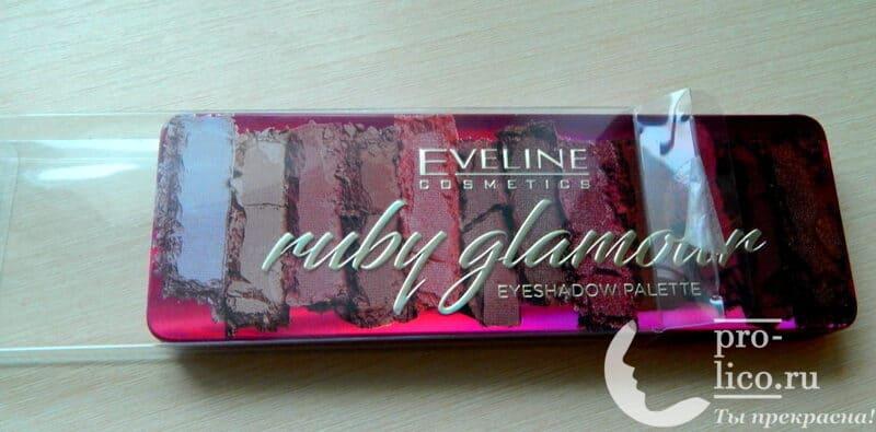 Мой отзыв на палетку теней для век Eveline Ruby Glamour