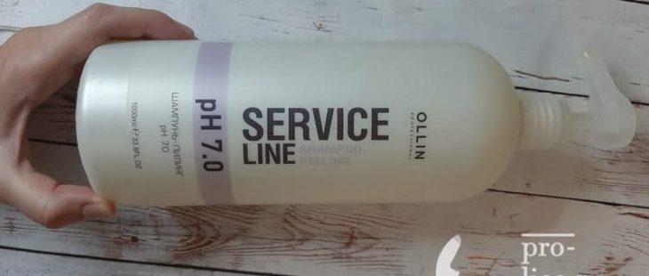 Мой отзыв на шампунь-пилинг OLLIN service line