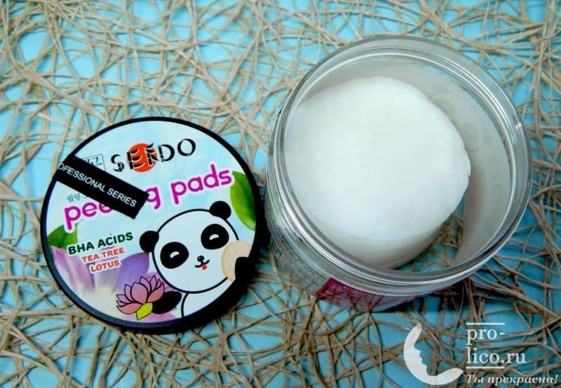 Отличные обновляющие пилинг-пэды Sendo для жирной кожи