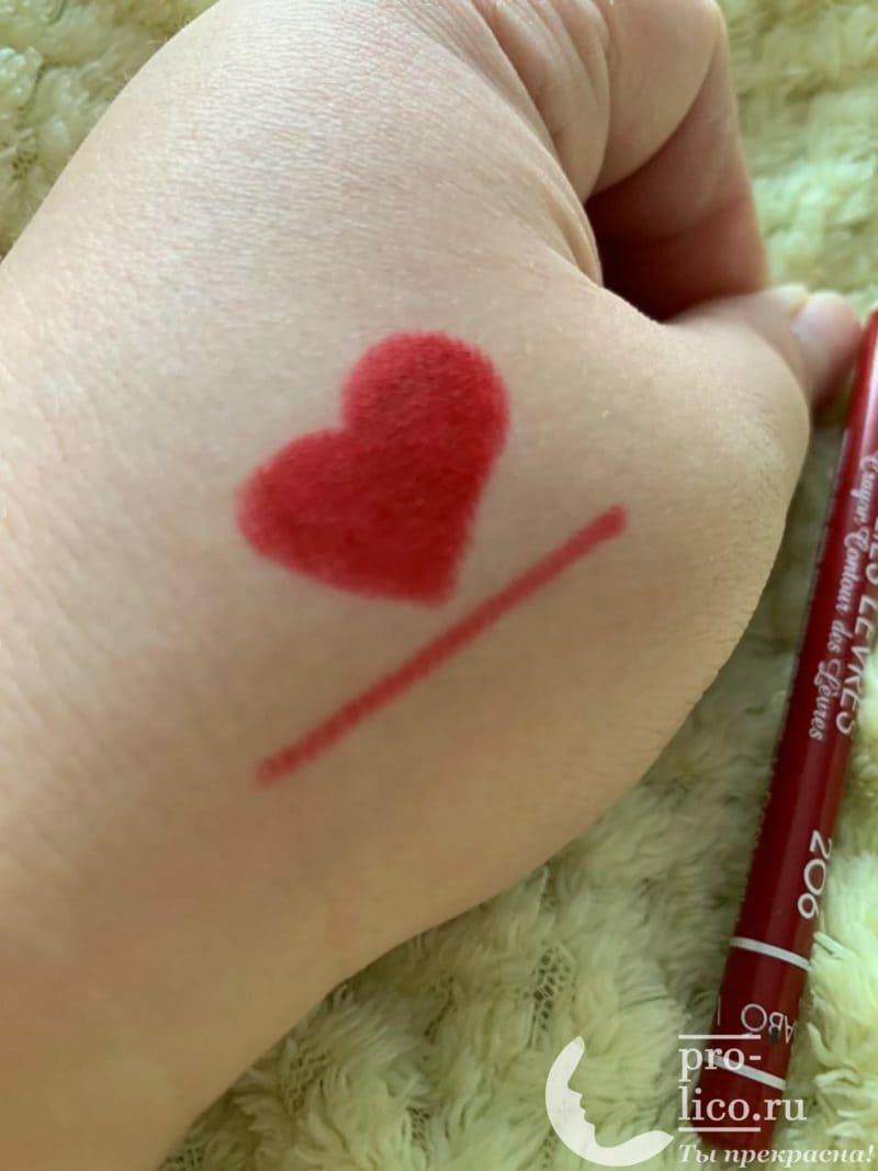 Самый лучший бюджетный карандаш для губ Vivienne Sabo + лайфхаки по использованию👄
