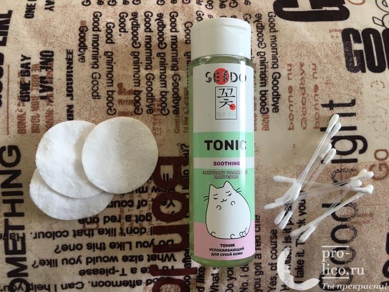 Успокаивающий тоник Sendo для сухой кожи — мой отзыв, разбор состава, плюсы и минусы