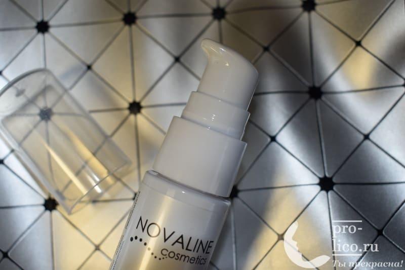 Гликолевый гель-пилинг Aqua Renewal от NOVALINE – мой отзыв, разбор состава, плюсы и минусы