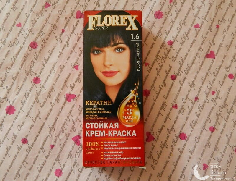 Мой отзыв на краску для волос Florex