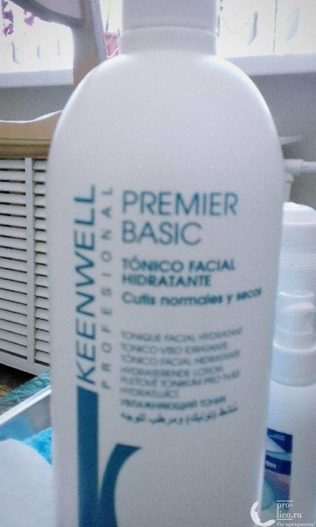 Мой отзыв на тоник для жирной и смешанной кожи Keenwell Premier basic
