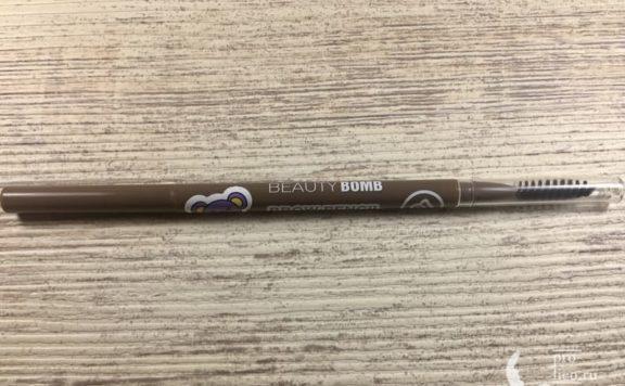 Карандаш для бровей Beauty Bomb — мой отзыв, разбор состава, плюсы и минусы