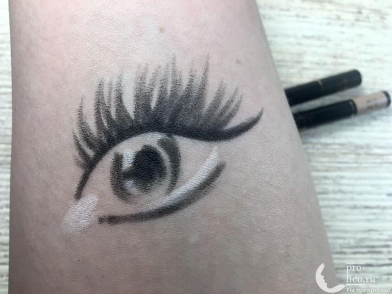 Карандаши для глаз Eyeliner Kajal от Stellary— мой отзыв, разбор состава, плюсы и минусы