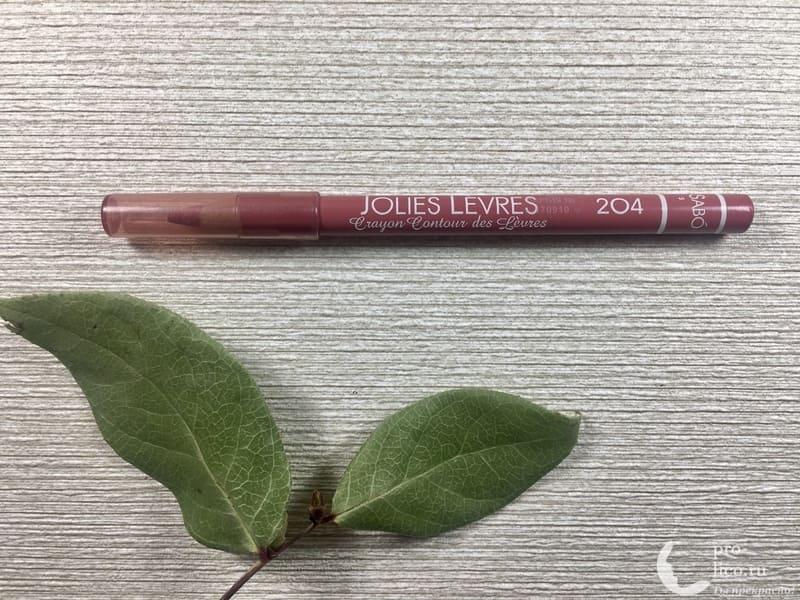 Карандаши для губ Jolies Levres от Vivienne Sabo — мой отзыв, разбор состава, плюсы и минусы