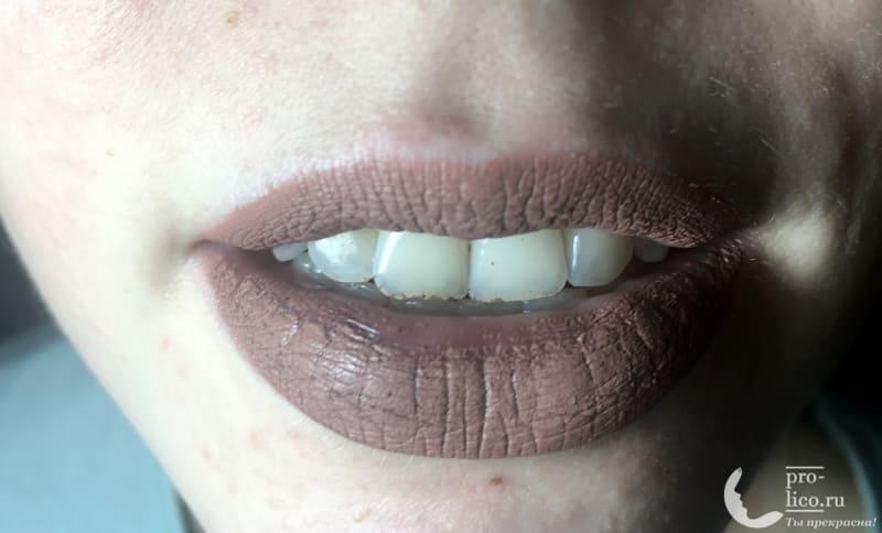 Матовый блеск для губ от LiLo Cosmic — мой отзыв, разбор состава, плюсы и минусы