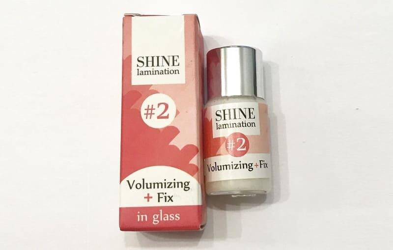 Объемные и длинные ресницы с ламинированием от Shine