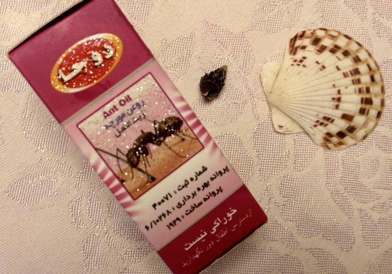 Удаляем нежелательные волосы с помощью муравьиного масла