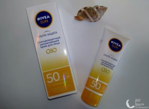 Солнцезащитный крем Nivea Sun 50 «Ультра защита» — мой отзыв, разбор состава, плюсы и минусы