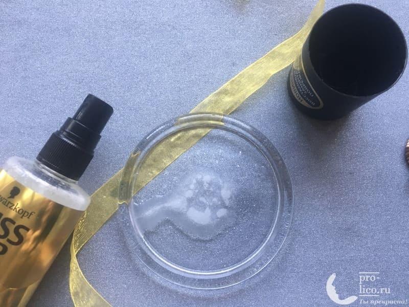 Экспресс-Кондиционер Gliss Kur Oil Nutrtive консистенция