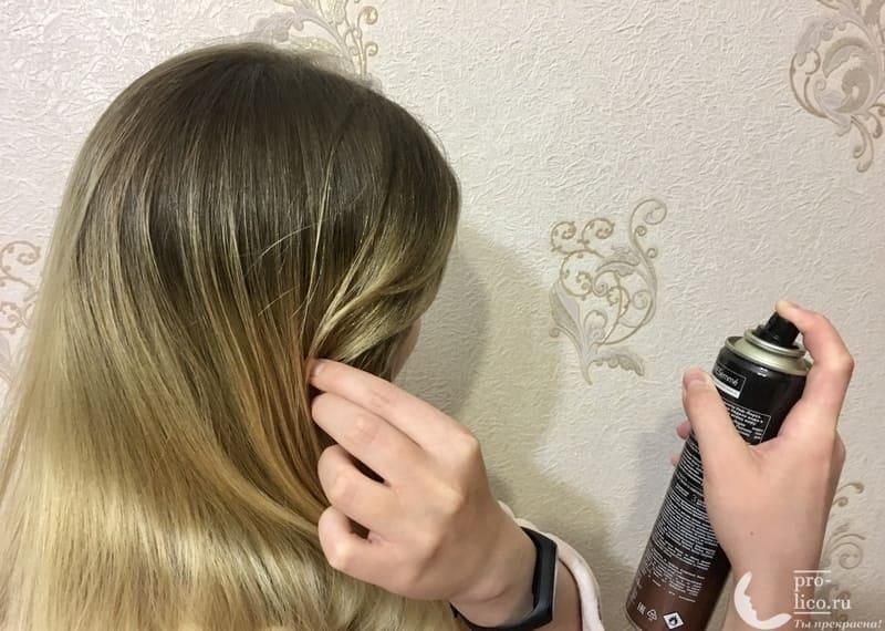 Лак для волос TRESemme фото до и после