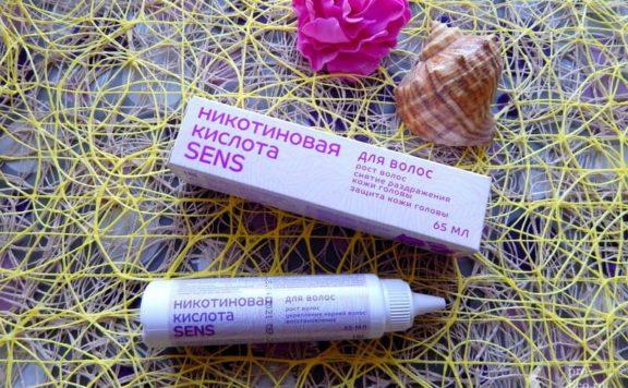 Никотиновая кислота для волос Sens