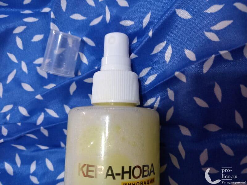 Спрей для волос КЕРА-НОВА мгновенный восстановитель структуры волос от Floresan