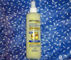 Спрей для волос КЕРА-НОВА мгновенный восстановитель структуры волос от Floresan — мой отзыв и обзор