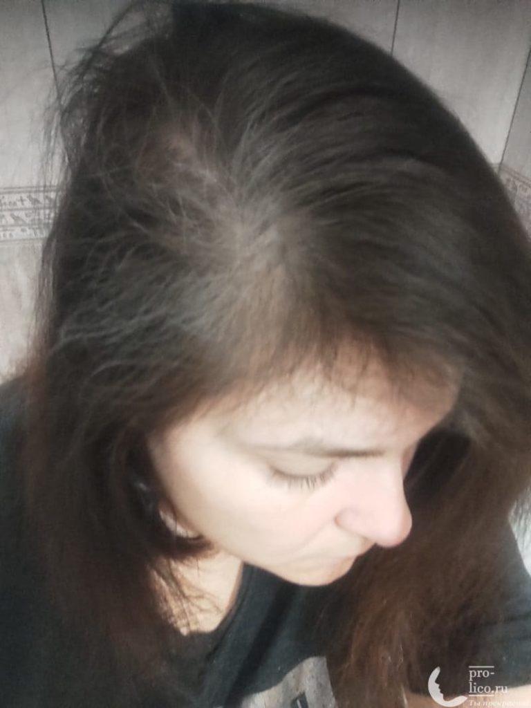 Studio Professional Сухой шампунь для волос фото до и после