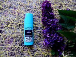 Тонирующий спрей для закрашивания седины и корней от L'Oreal – мой отзыв и использование на седых волосах