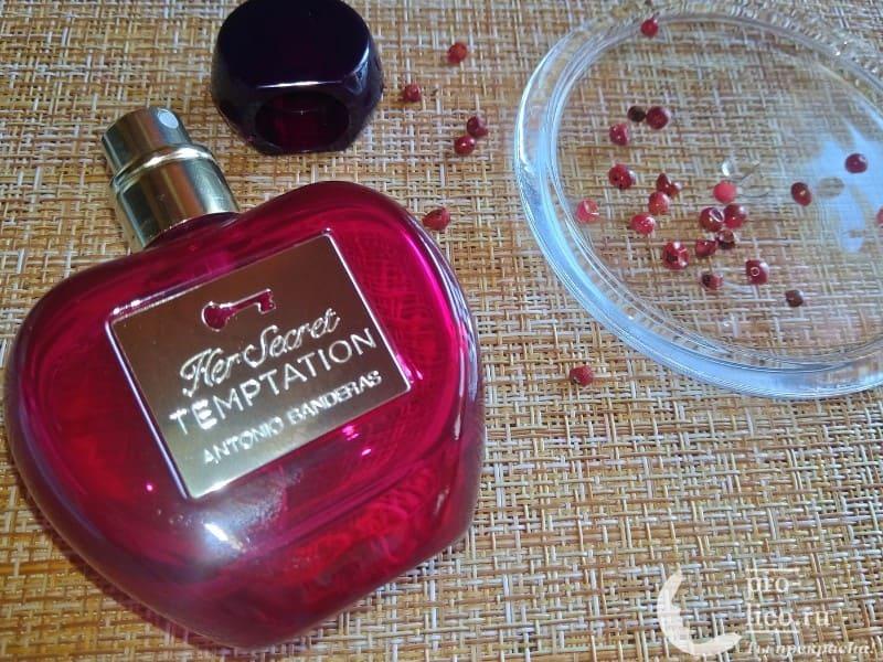 Туалетная вода Her Secret Temptation от Antonio Banderas — мой отзыв, плюсы и минусы
