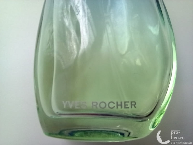 Туалетная вода Yves Rocher Naturelle