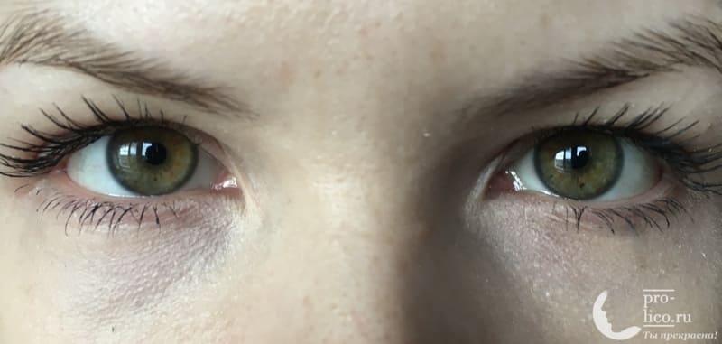 Тушь для ресниц 3D Volume mascara от Stellary фото до и после