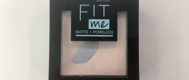 Компактная пудра Maybelline Fit Me! Matte+Poreless