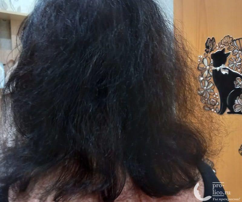 Крем для волос Ollin Perfeсt Hair 15 в 1 до и после