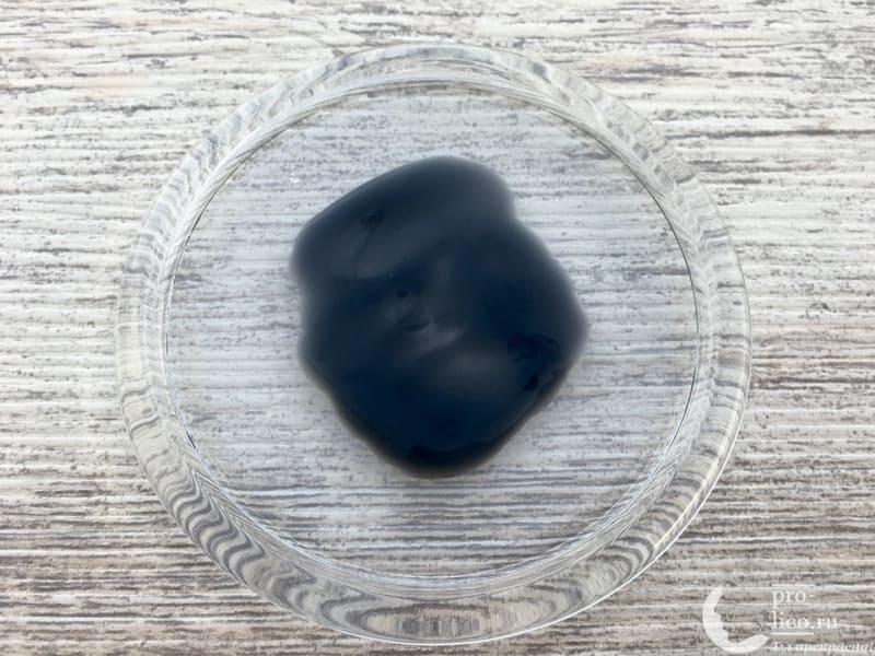 Маска-пленка для лица Compliment Black Mask Co-Enzymes консистенция