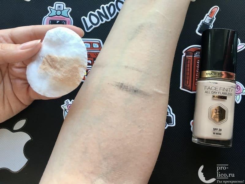 Мицеллярная вода Garnier «Чистая кожа» для чувствительной комбинированной и жирной кожи удаляем тональный крем
